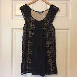 Black Anthropologie blouse